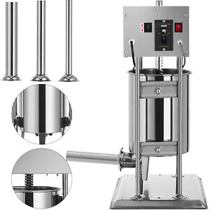 12l Electric Meat Maker Filler Sausage Stuffer Stainless Steel Best Price