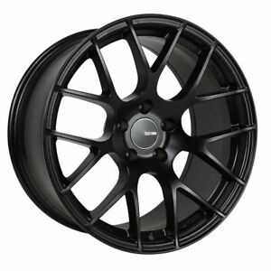 Enkei Wheels Rim Raijin 19x8 5 5x114 3 Et50 72 6cb Black Paint