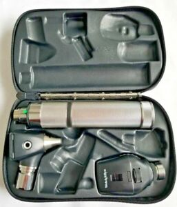 Welch Allyn 3 5v Diagnostic Set W Otoscope Ophthalmoscope Plug in Handle
