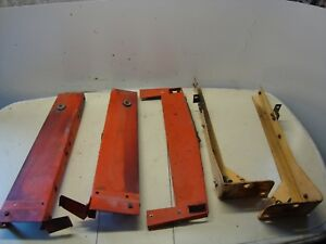 Case 1370 Tractor Radiator front Mounting Brackets