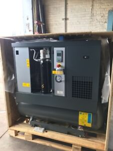 10 Hp Atlas Copco G7ff Rotary Screw Air Compressor