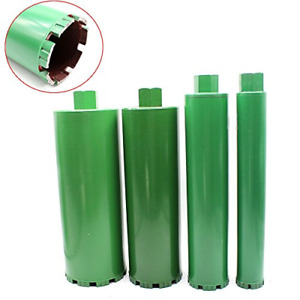 Wet Diamond 4pcs Set Combo Wet Diamond Core Drill Bit Fit Hole Saw 2 3 5