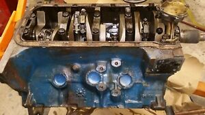 428 Ford Cj Cobra Jet Engine Short Block C Scratch 1968