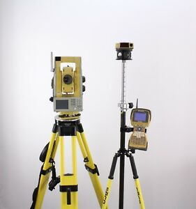 Topcon Gpt 9003a 3 Robotic Total Station Kit W Fc 2500 Topsurv 2 4 Ghz Rc 3r