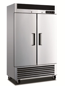 Coolmes Ab 49r Fullsize Double Door Bottom Mount Reach in Refrigerate Cooler Nsf