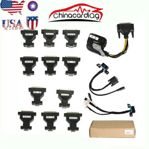 Usa Ship For Benz Ecu Test Adaptor Scan Tool Supports Can Protocol And Ecu Types