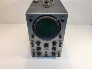 Vintage Eico Model 460 Oscilloscope Dc Wide Band
