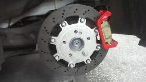 Rear Brake Rotor Upgrade Kit Fits Mercedes Cla45 A45 Gla45 Agency Power