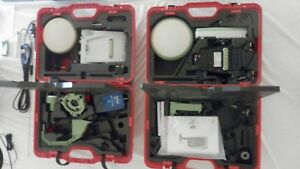 Leica Atx1230 Gg Gx1230 Gg Base Rover Rtk Gnss Kit W Rx1250x Adl In Cases