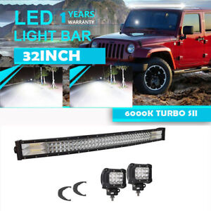 22inch Led Light Bar Color 1680w Osram Curved Combo Work Lamp Vs 20 24 32