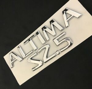 Altima Nameplate Letters Fits Nissan Rear Trunk Emblem Logo Badge Name 2006 2015