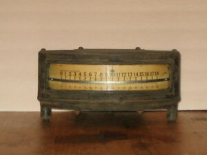 Antique Rare Tycos Pyrometer Taylor Instrument Co s Rochester Ny