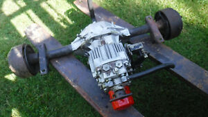 Toro Groundmaster Working Front Axle Assembly And Hydro