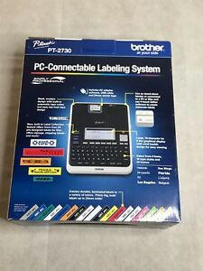 Brother P touch Pt 2730 Label Maker Thermal Printer Pc mac Connective Euc