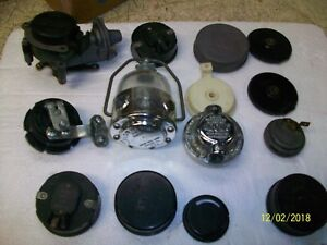 Lot Of Various Vintage Auto Choke Items Regulators Gadgets Ford Carter Other