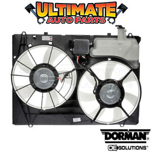 Radiator Cooling Dual Fan W Controller Reservoir 3 5l For 07 10 Toyota Sienna