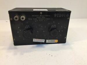 Decade Inductance Type 232i 2321 New York Transformer Co