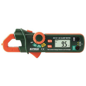Extech Ma150 200a Mini Ac Clamp Meter And Ncv Detector
