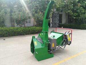 Bxh 712 Wood Chipper With Hydraulic Motor Controls