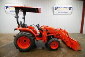 2013 Kubota L3200 Tractor 4wd 540 Pto 3 point Hitch