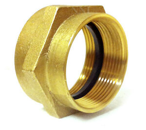 Nni 2 1 2 Female Npt X Nst Fire Hydrant Hose Brass Hex Adapter