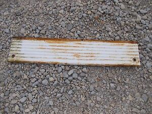 Farmall 340 Rc Tractor Original Ih Ihc Front Right Hood Engine Side Cover Panel