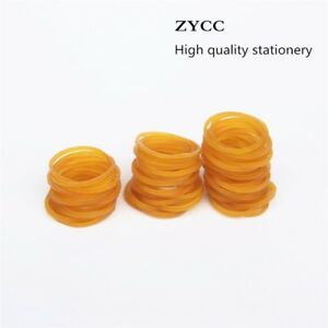 200 Pcs bag High Quality Office Rubber Ring Rubber Bands Strong Elastic Statione