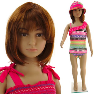 Realistic Standing Unisex Child Mannequin Base C 01
