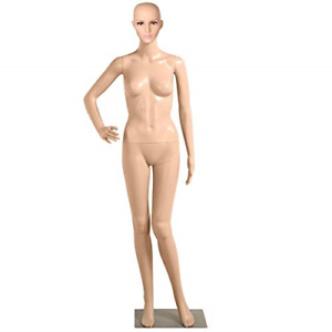 Glamorous Beautiful Female Full Body Plastic Realistic Mannequin Torso Dress