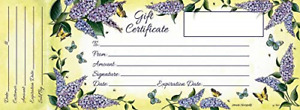 Blank Gift Certificates With Envelopes For Business 36 Printable Paper Cards