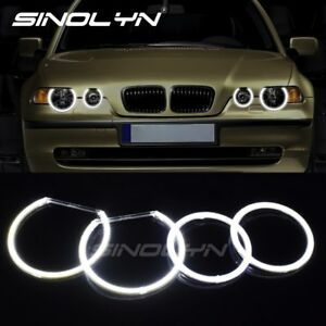 Cob Led Angel Eyes Halo Rings For Bmw E83 X3 E46 Ti td Compact Headlights Tuning