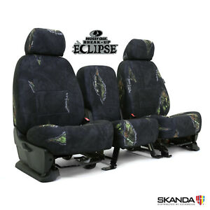 Skanda Mossy Oak Eclipse Camo Custom Fit Front Seat Covers For Nissan Titan