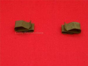 1940 1966 Cadillac Wiring Harness Clips Pair