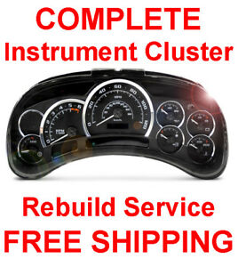 cadillac escalade gauge cluster repair