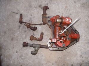 1939 Farmall M Tractor Ih Hydraulic Belly Pump W Bottom Cover Plate Tubes