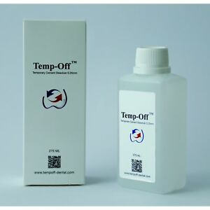 Dental Temp off Temporary Cement Dissolver remove Temp Cement Free Shipping