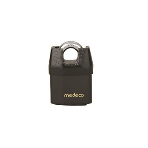 Medeco M3 5 16 Shrouded Boron Padlock 3 4 Shackle Clearance Indoor outdoor