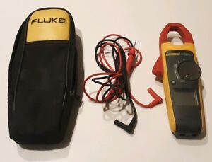 Fluke 373 True rms Trms Current Clamp Meter 600a 600v Ac dc Ammeter Probe