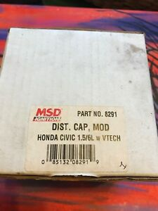 Msd 8291 Honda Acura 1 5 1 6 V tech Distributor Cap Conversion External Coil