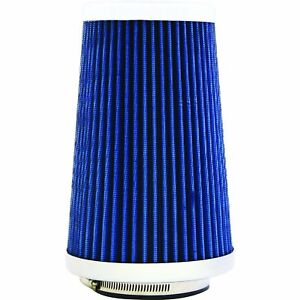 Reusable Air Filter For Car Large Blue Cone Intake Washable Air Filter For Car