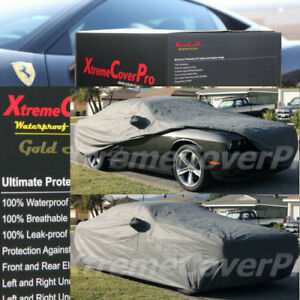 Custom Fit 2016 2017 2018 2019 2020 Dodge Challenger Waterproof Car Cover Grey