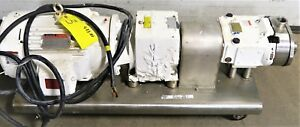 1 030 Waukesha Cherry Burrell Positive Displacement Pump 3