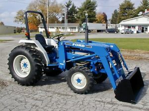 Ford 1920 Diesel 4x4 Loader Only 1698 Hours Nationwide Shipping Available