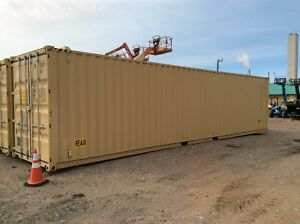 New Conex 40 High Cube Container 40cont dd hc owl Sr