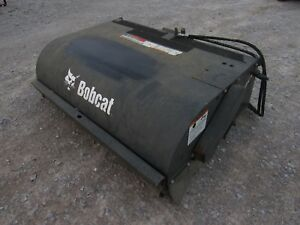 2014 Bobcat Skid Steer 60 Pick Up Box Sweeper Broom Attachment Ship 199