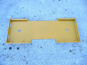 Caterpillar Cat Quick Attach Attachment Skid Steer Mount Weld Plate Free Ship