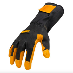 Dewalt Large Tig Welding Welder Machine Leather Gloves Fire Heat Resistant Pair