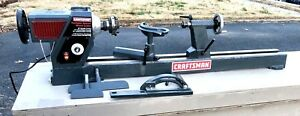 Craftsman Variable Speed Wood Lathe Model 351 21717 2hp 2000 Rpm