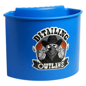 Detailing Outlaws Buckanizer Bucket Clip On Organizer Compartment blue