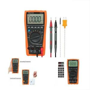 Multi Testers Digital Multimeter 3999 Lcd Auto Ranging Meter With Capacitance Dc